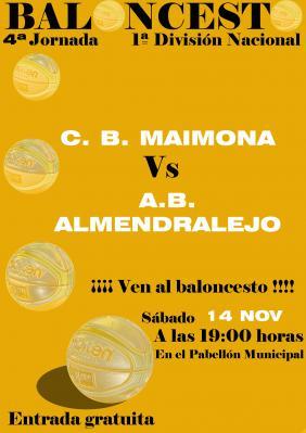 CB MAIMONA - AB ALMENDRALEJO
